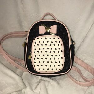 A Betsey Johnson Small Backpack!